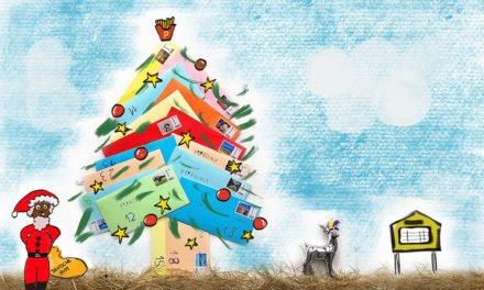 Zu Weihnachten geht die Post ab